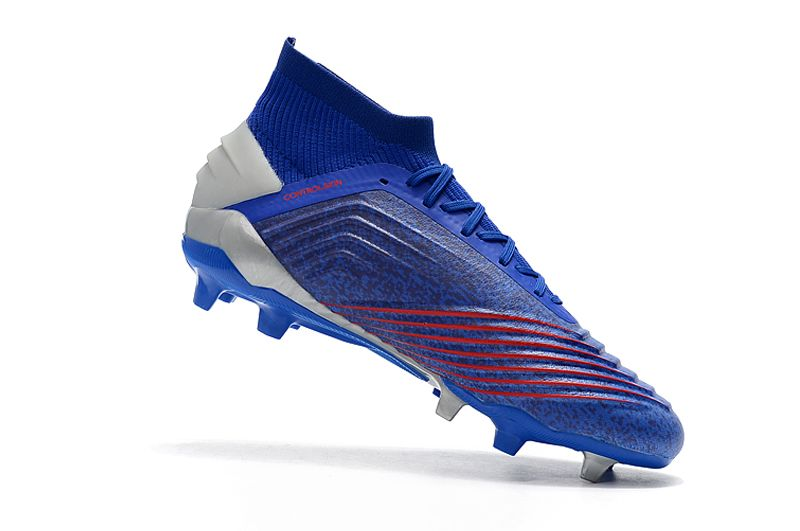 Weekly adidas Predator 19.1FG blue football shoes Inside