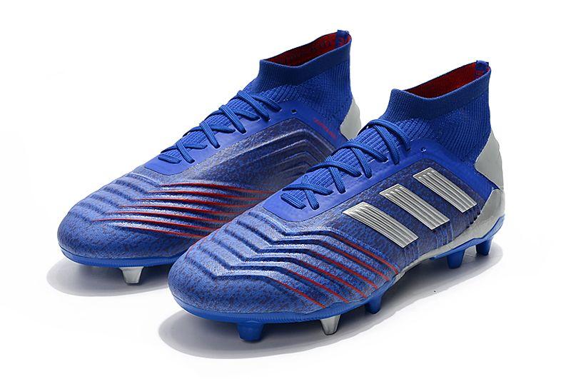 Weekly adidas Predator 19.1FG blue football shoes Shop