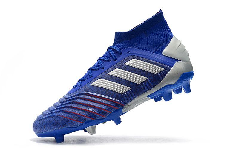 Weekly adidas Predator 19.1FG blue football shoes