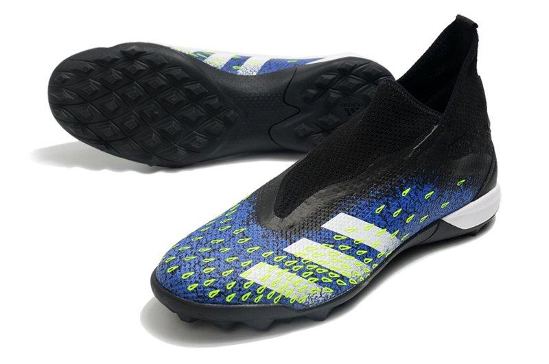 adidas Predator Freak3 Laceless TF Black Blue Football Boots Shop