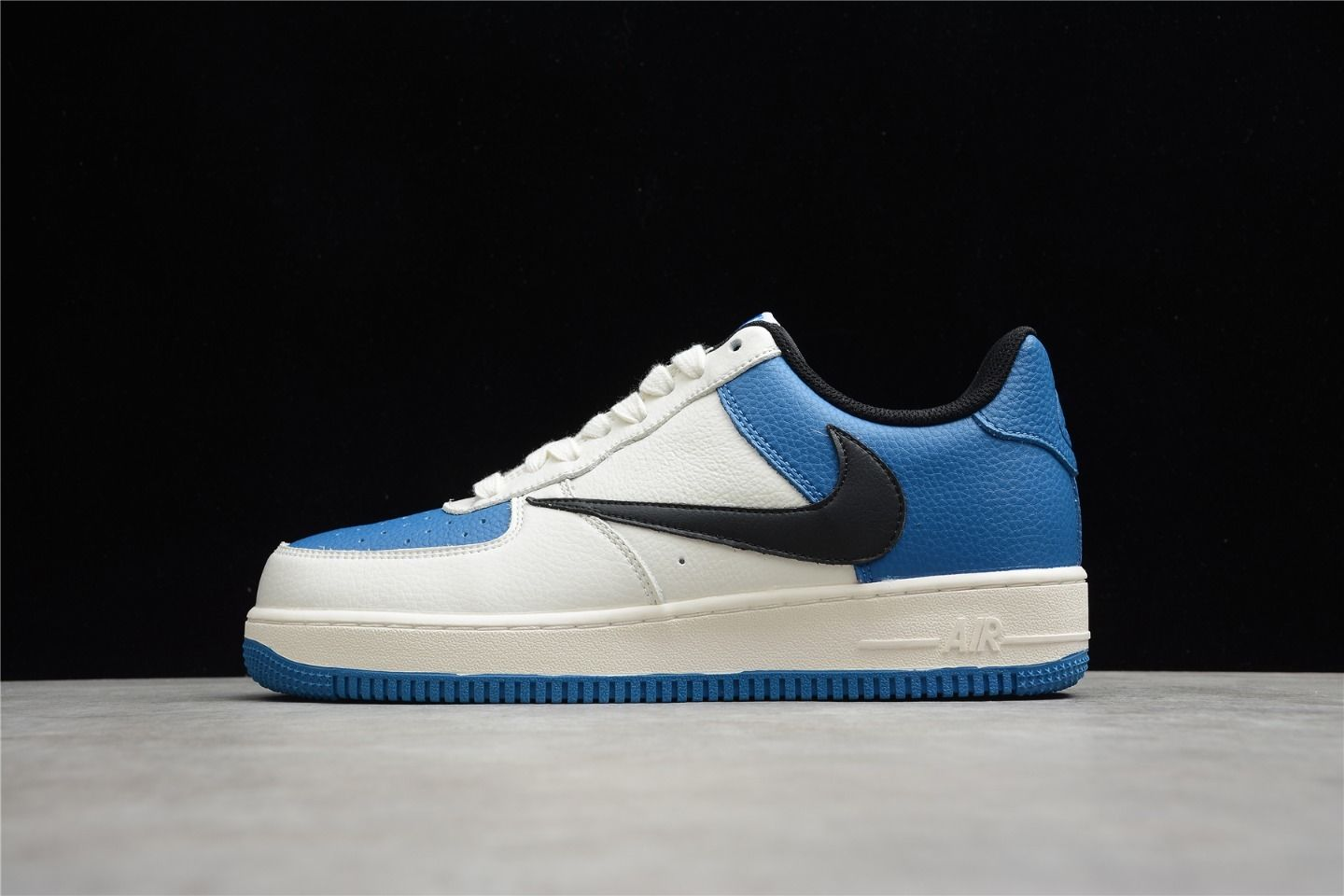 2021 Nike Air Force 1 White Blue-Black To Buy HG1136-022