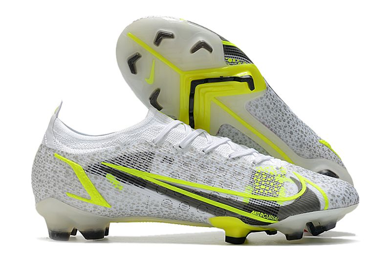2021 Nike Mercuri Vapor XIV Elite FG dust yellow football boots Outside