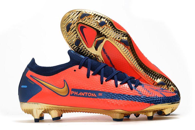 2021 Nike Phantom GT Elite FG red and blue football boots