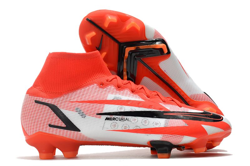 2021 Nike Superfly 8 Spark Positivity CR7 Elite FG Red White Black Football Boots overall