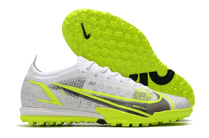 2021 Nike Vapor 14 Elite TF yellow and white football boots