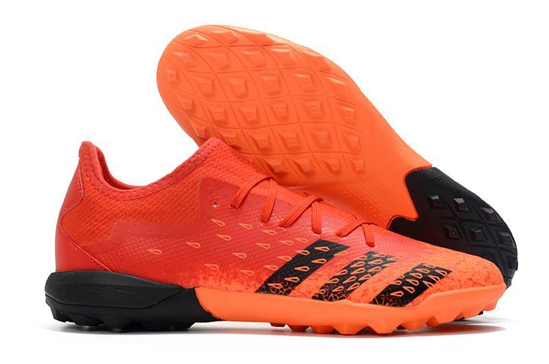 ADIDAS PREDATOR FREAK .3 LOW TF orange black football shoes