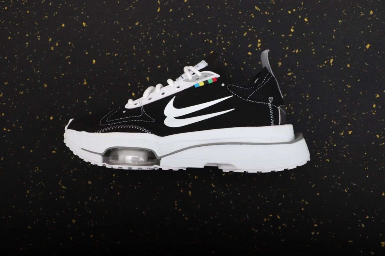 New Nike Air Zoom Type N.354 Double Swoosh Black White DB2622-001 side