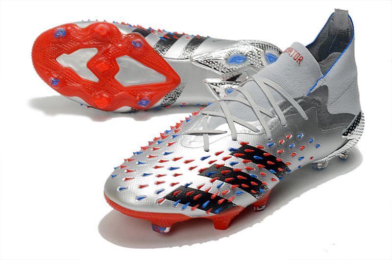 adidas Predator Freak.1 FG pollution red football boots vamp