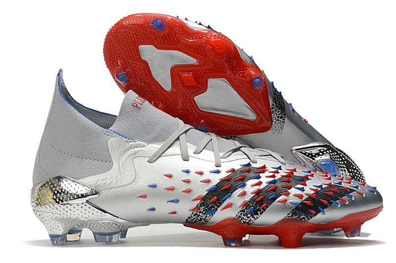 adidas Predator Freak.1 FG pollution red football boots