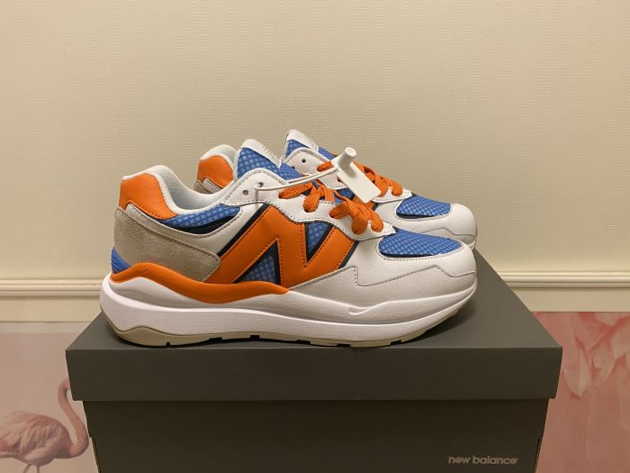2021 New Balance M5740MY yellow blue white casual shoes sports shoes jogging shoes overall