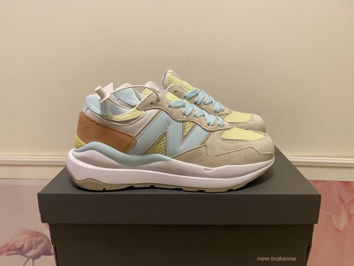 2021 New Balance M5740SB yellow gray casual shoes sneakers jogging shoes