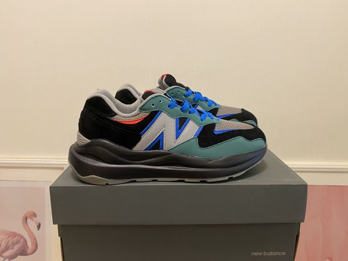 2021 New BalanceM5740MW blue gray black casual shoes sports shoes jogging shoes