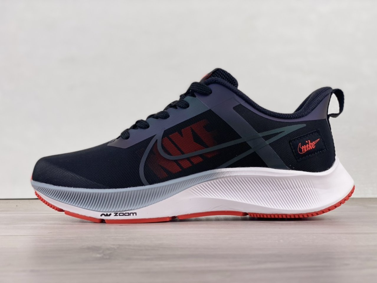 2021Nike Air Zoom Structure 39X Black, Red and White Running Shoes DJ3128-200