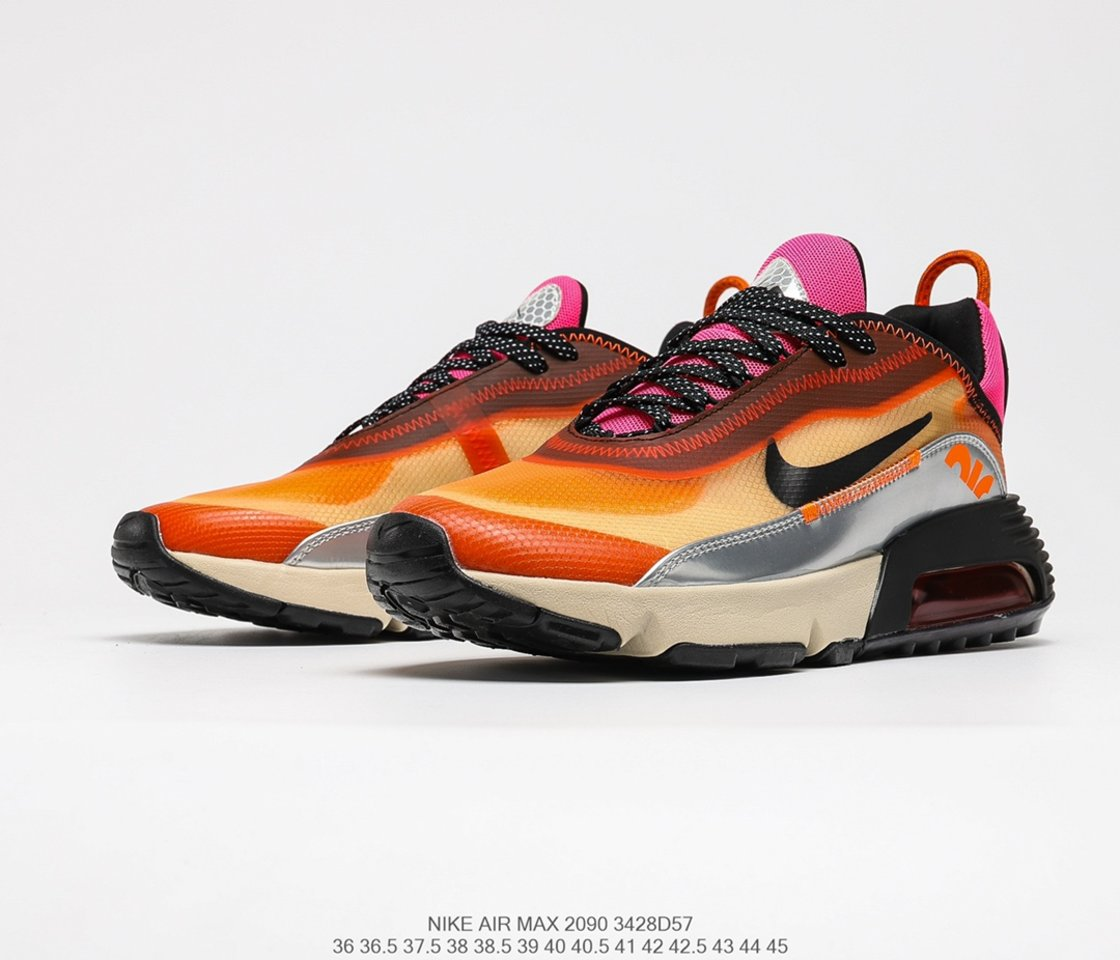 Best selling 3M x Nike Air Max 2090 running shoes CW8611-800 vamp