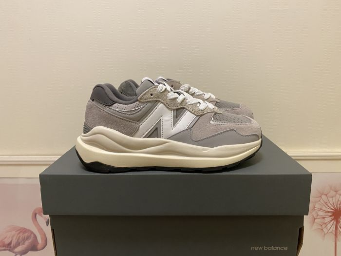 New Balance M5740TA gray and white casual shoes sneakers