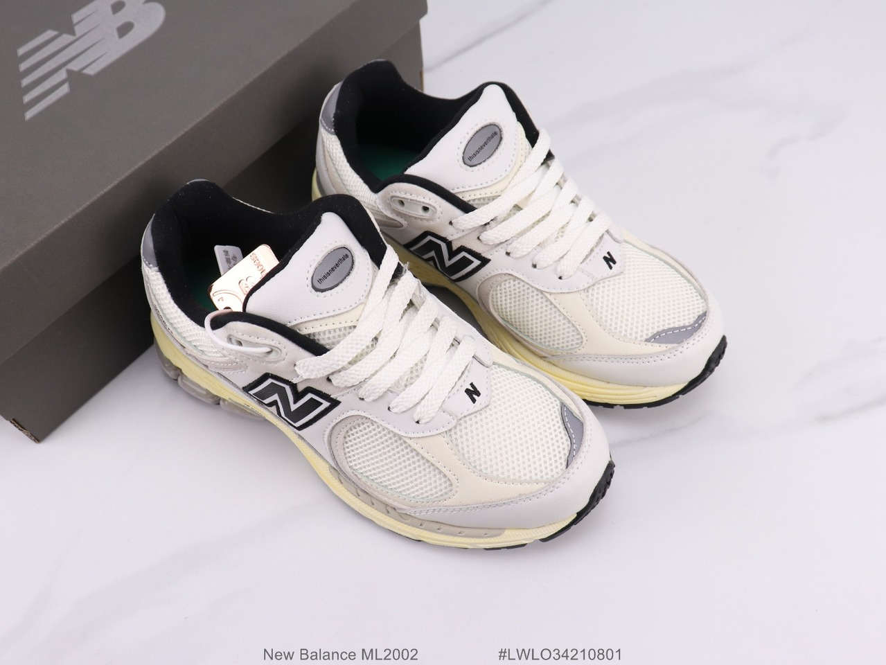 New Balance ML2002 running shoes daddy shoes overall