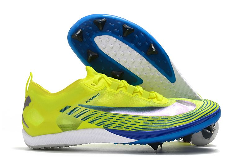 New Nike Zoom Victory 5 XC yellow-green football shoes