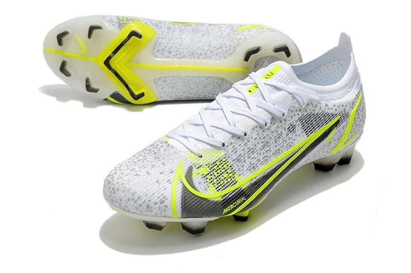 Nike Mercurial Vapor XIV Elite FG gold yellow football shoes vamp