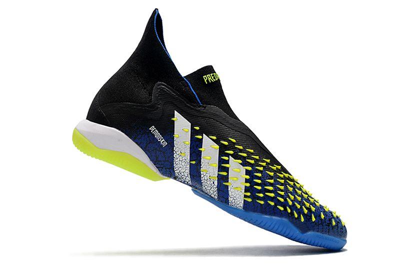 Adidas PREDATOR FREAK + IC black blue blue football shoes Right