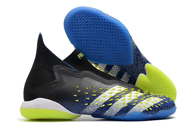 Adidas PREDATOR FREAK + IC black blue blue football shoes