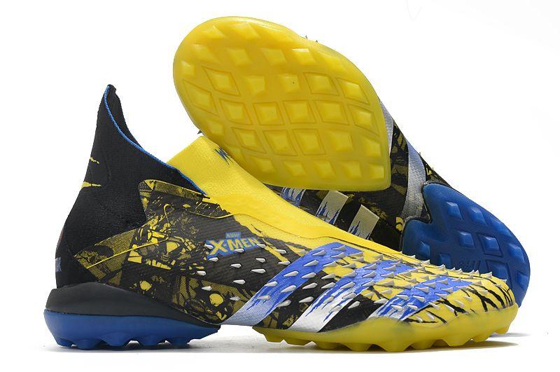 Adidas PREDATOR FREAK + TF rivet yellow and black football boots