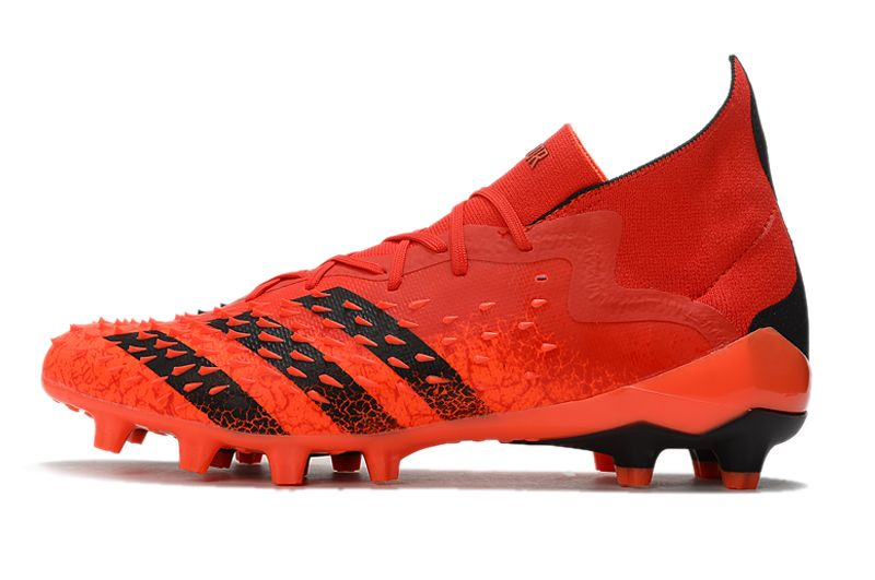 Adidas PREDATOR FREAK.1 AG red and black football boots Outside