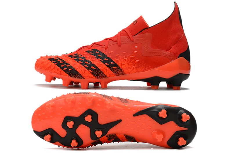 Adidas PREDATOR FREAK.1 AG red and black football boots Sole