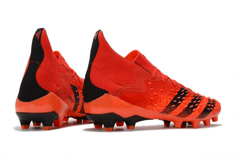 Adidas PREDATOR FREAK.1 AG red and black football boots side