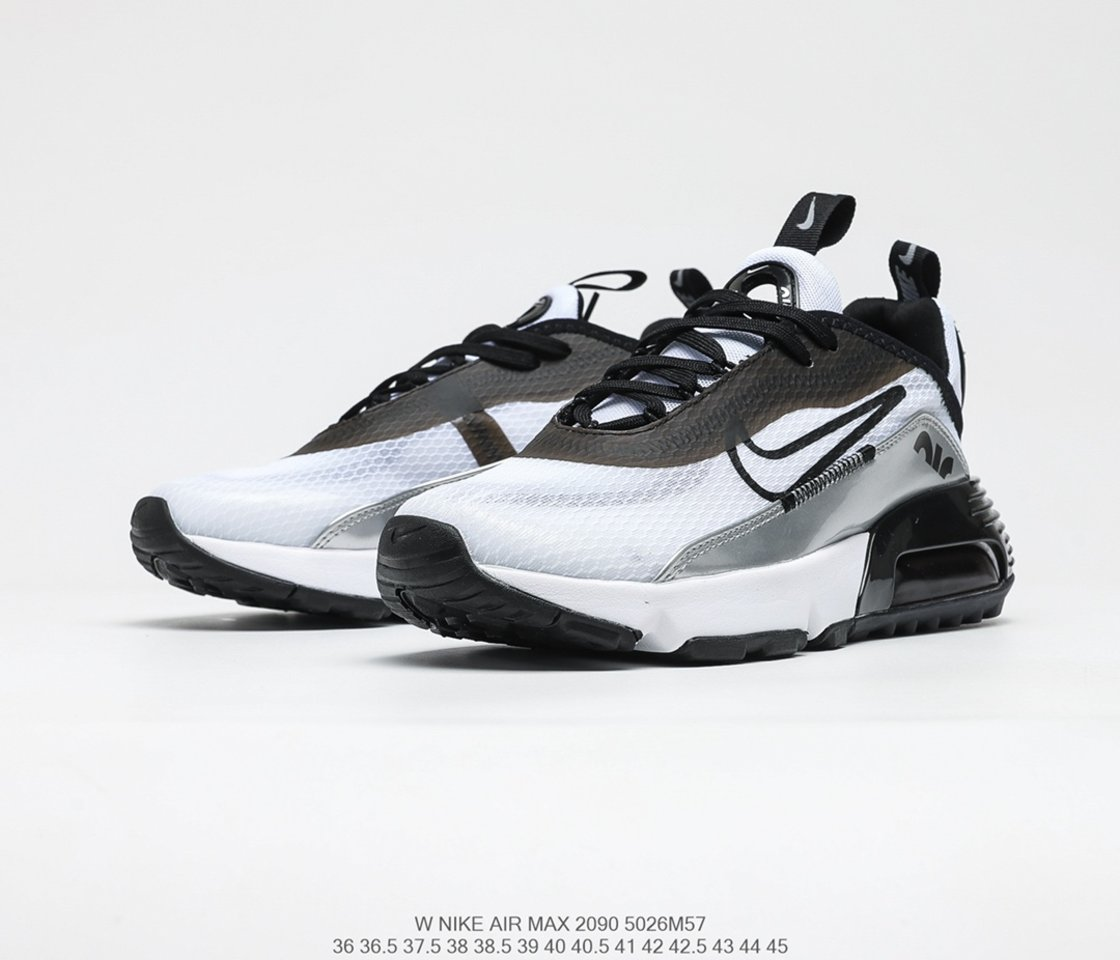 Best selling Nike Air Max 2090 White Reflect Silver running shoes DB0927-100 Outside