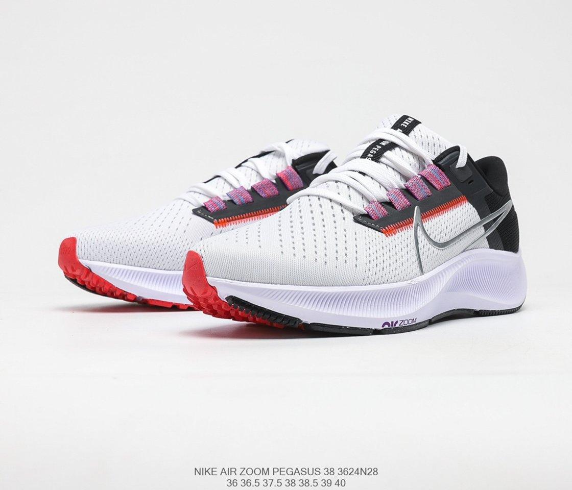New Nike Air Zoom Pegasus 38 Running Shoes CW7358-101 vamp