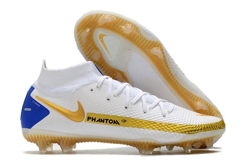 Nike Phantom GT high-top waterproof full-knit brandy original FG football boots