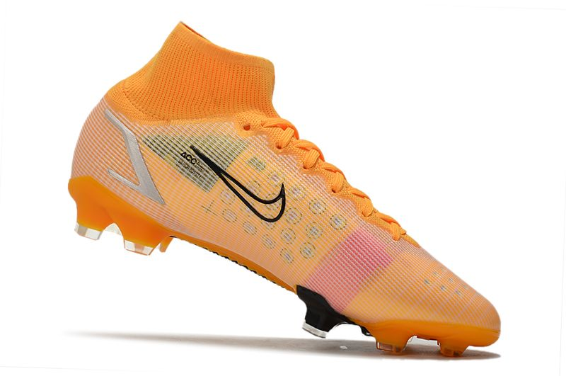 Nike Superfly 8 Elite FG yellow and black football boots