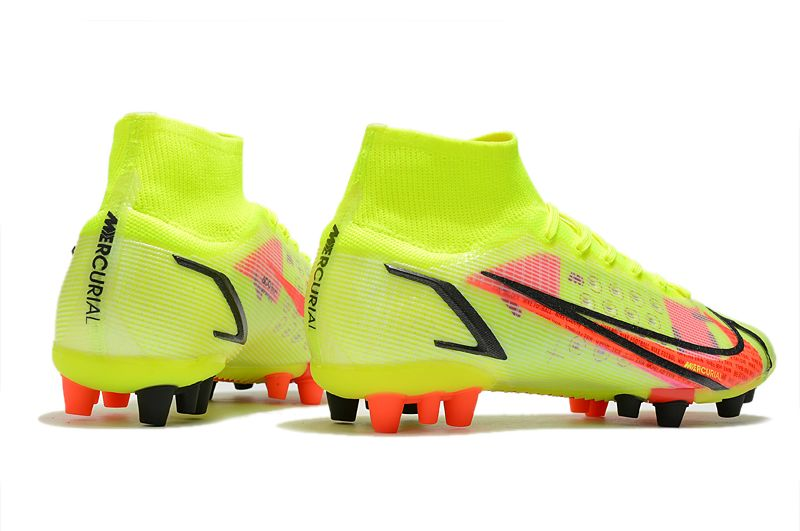 Nike Superfly 8 Pro AG yellow black red football boots Outside