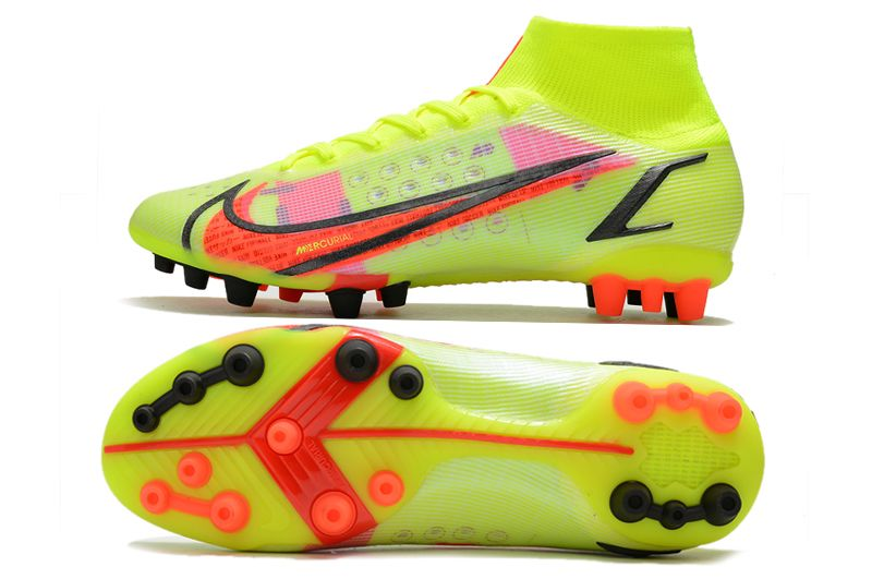 Nike Superfly 8 Pro AG yellow black red football boots Sole