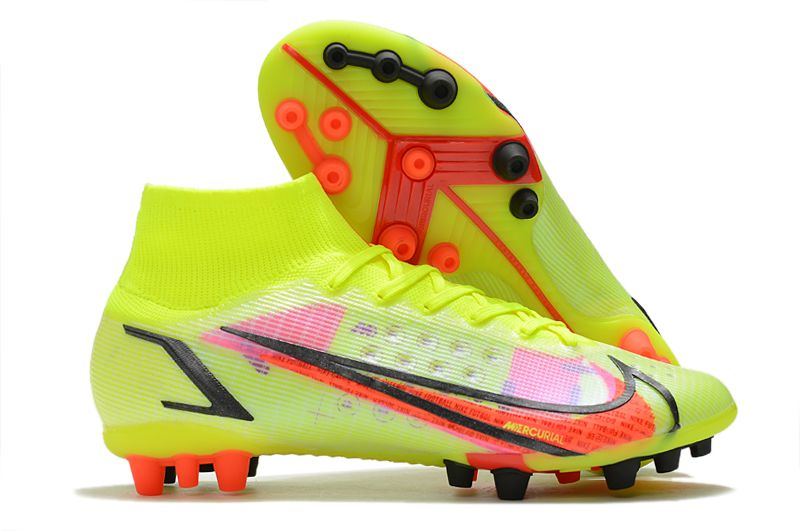 Nike Superfly 8 Pro AG yellow black red football boots