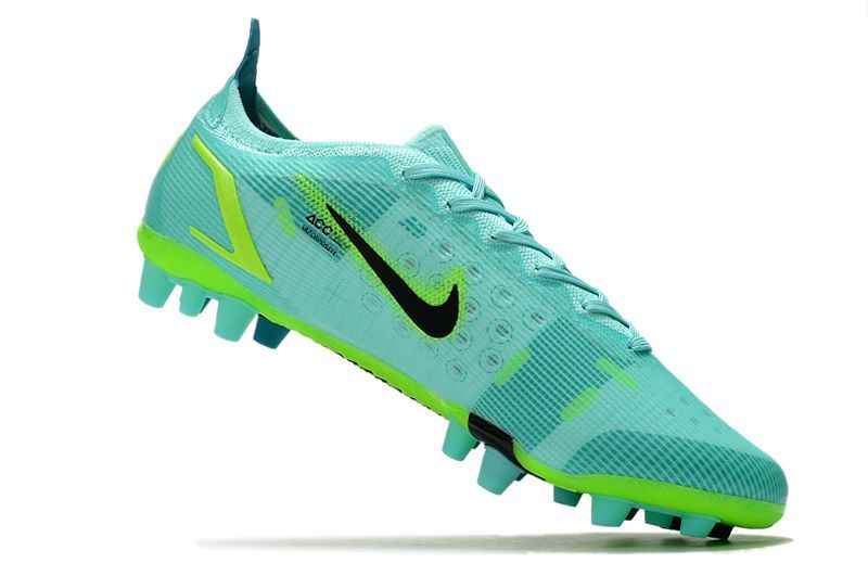 Nike Vapor 14 Elite PRO AG blue and green football shoes Inside