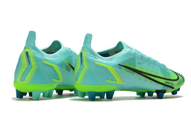 Nike Vapor 14 Elite PRO AG blue and green football shoes Right