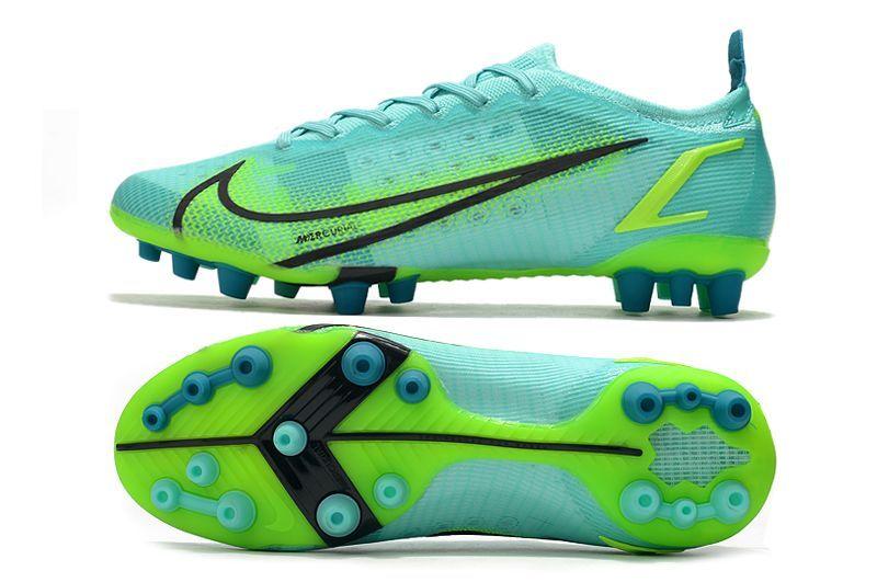Nike Vapor 14 Elite PRO AG blue and green football shoes Sole