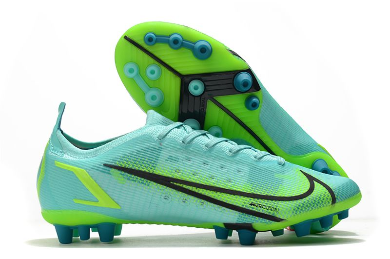 Nike Vapor 14 Elite PRO AG blue and green football shoes