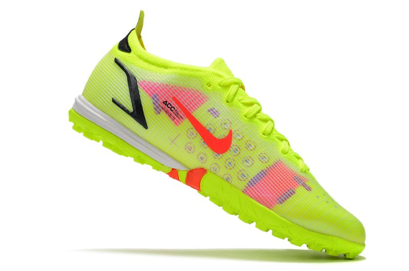 Nike Vapor 14 Elite TF yellow black red football shoes Inside