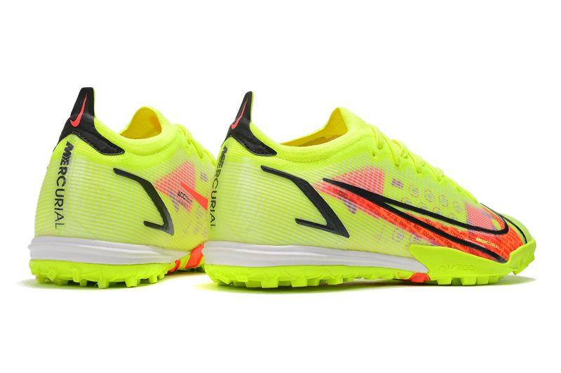 Nike Vapor 14 Elite TF yellow black red football shoes Right