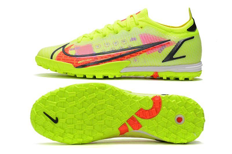 Nike Vapor 14 Elite TF yellow black red football shoes Sole