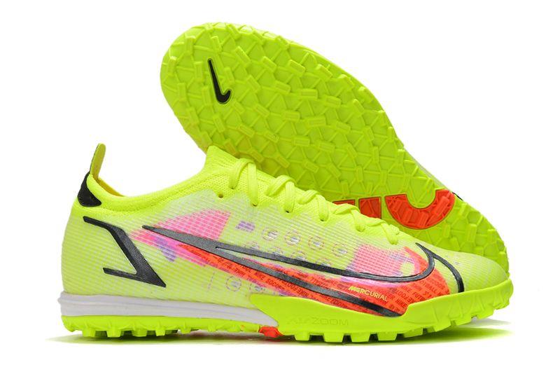 Nike Vapor 14 Elite TF yellow black red football shoes