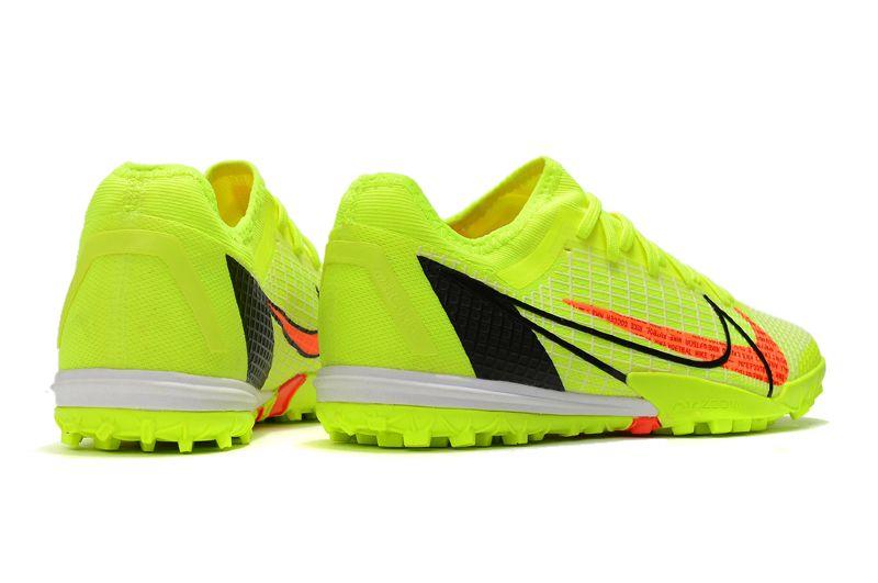 Nike Zoom Vapor 14 Pro TF Yellow Studded Football Boots Outside