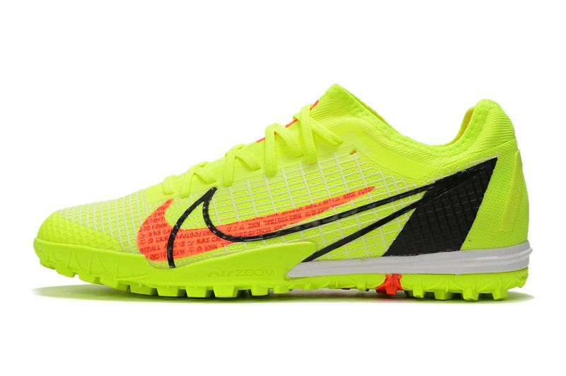 Nike Zoom Vapor 14 Pro TF Yellow Studded Football Boots Shop