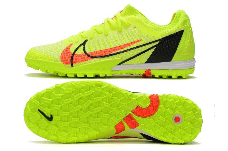Nike Zoom Vapor 14 Pro TF Yellow Studded Football Boots Sole