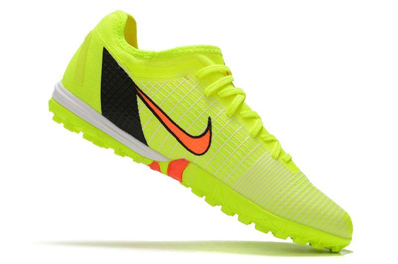 Nike Zoom Vapor 14 Pro TF Yellow Studded Football Boots side