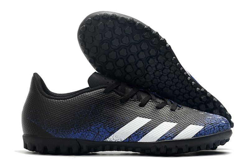 adidas Predator 21.4 TF Sale black and blue football boots