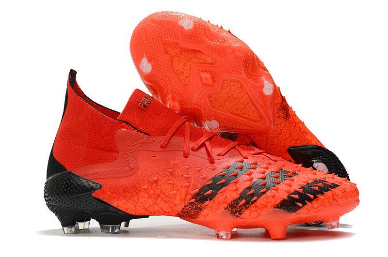 adidas Predator Freak.1 FG red orange football boots