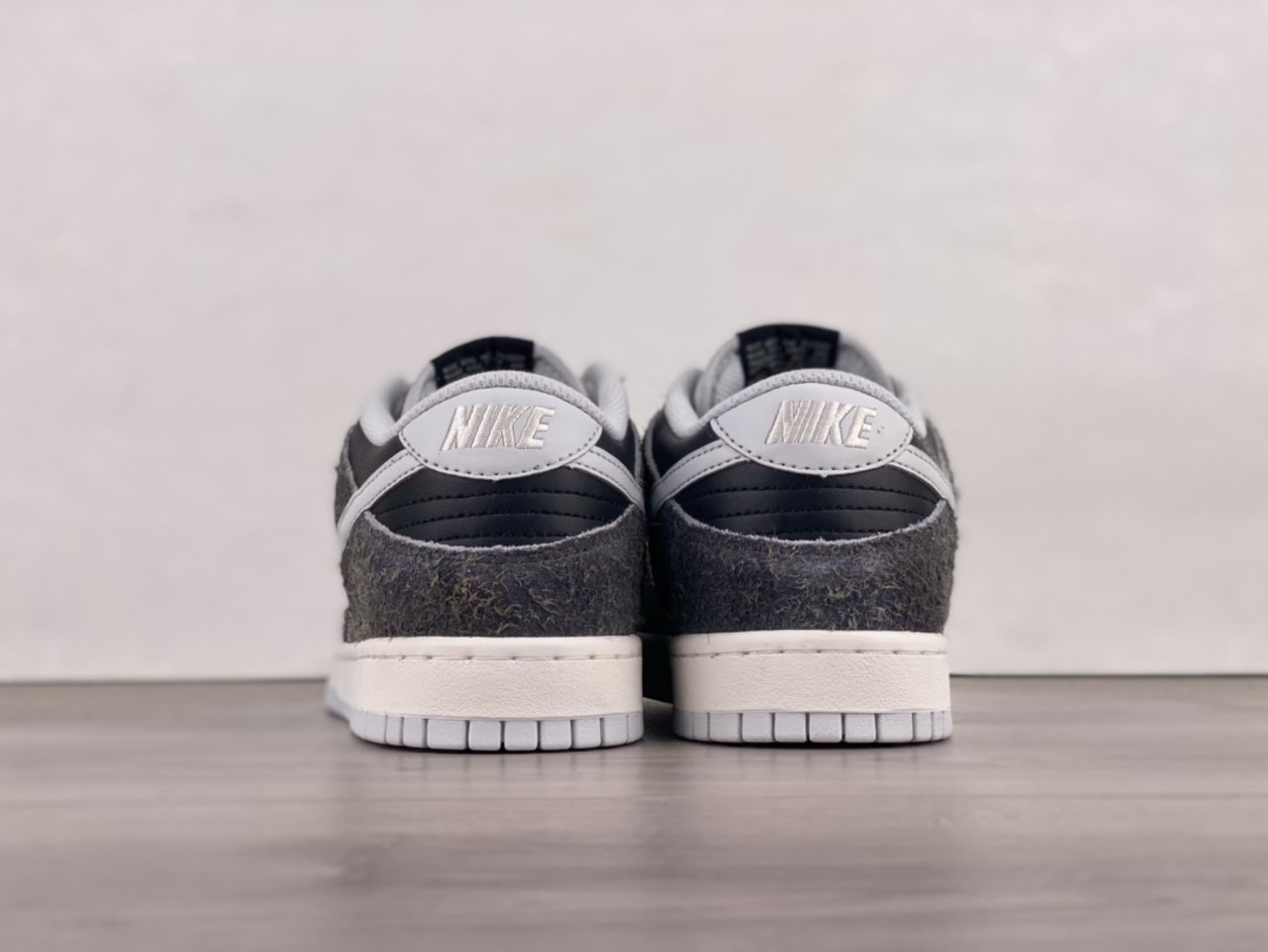 2021 New Nike Dunk Low Retro Animal Pack Zebra DH7913-001 Back heel